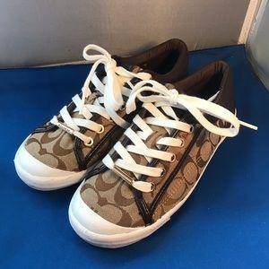 coach francesca sneakers A5209 size 7B